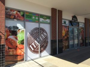 commercial signage tint